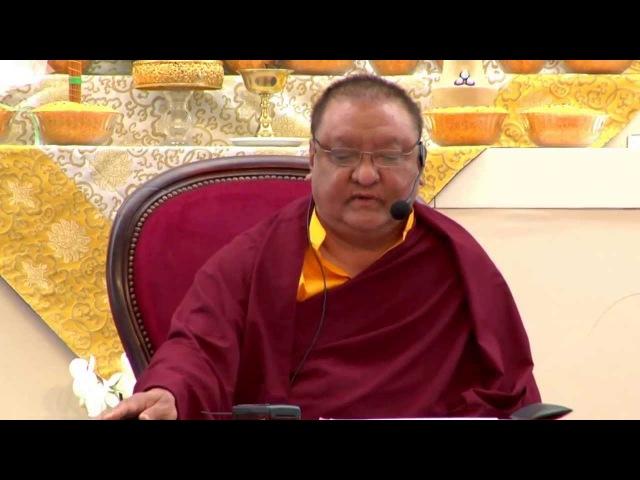 Mahamudra Prayers - Shamar Rinpoche - Dhagpo Kagyu Ling - June 2013 - 58