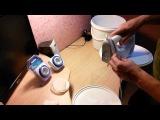 крем мёд или как сделать кремовальную установку