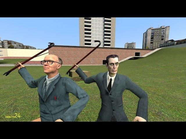 Безудержное веселье в Garry's Mod Multiplayer. Делаем КОТапульту!