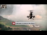 Attack Helicopters Unleash Their Firepower During Massive Live Fire Exercise