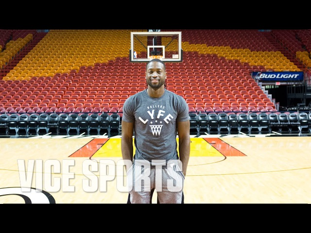 Dwyane Wade Meets the Basketball Impersonator and Talks the Evolution of NBA Style