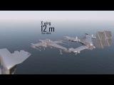 Сравнение размеров космических кораблей из фильмов и игр