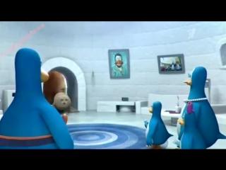 Реклама Киндер Пингви - Котик-кровать 2014