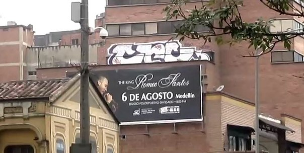 graffiti bombing colombia