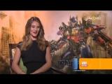 Интервью Рози в рамках премьеры фильма Трансформеры 3: Тёмная Сторона Луны