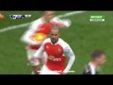 Арсенал 1-1 Лестер | Гол: Уолкотт