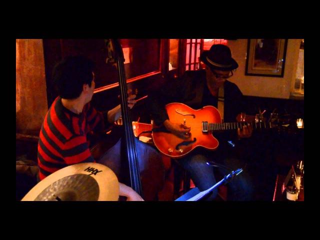 'Round Midnight Ed Cherry Trio, Bar Next Door NYC 4-17-2015
