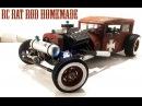RC CAR - RAT ROD RWD HOMEMADE 1/10 [PART 4/5] Radiator Paint Pipes Lights