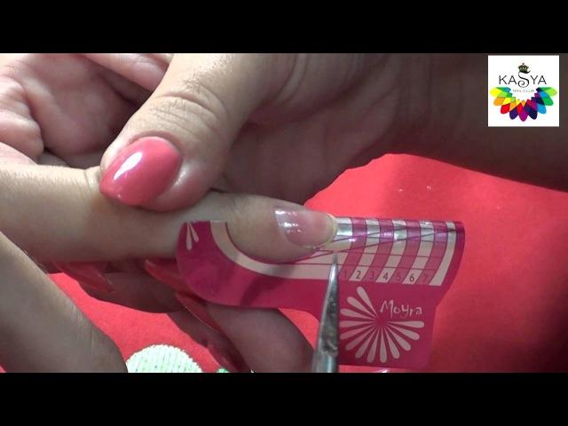 Наращивание ногтей акрилом ютуб