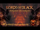 LORDS OF BLACK Forgive Or Forget LYRICS VIDEO