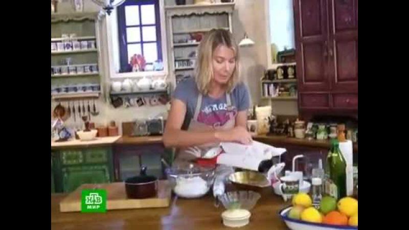Завтрак с Юлией Высоцкой - Малиновый чизкейк