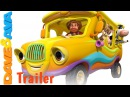 Wheels on the Bus - Trailer | Animal Sounds Song | Nursery Rhymes and Baby Songs from Dave and Ava