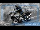 Правильная посадка на мотоцикле - Лаборатория В шлеме
