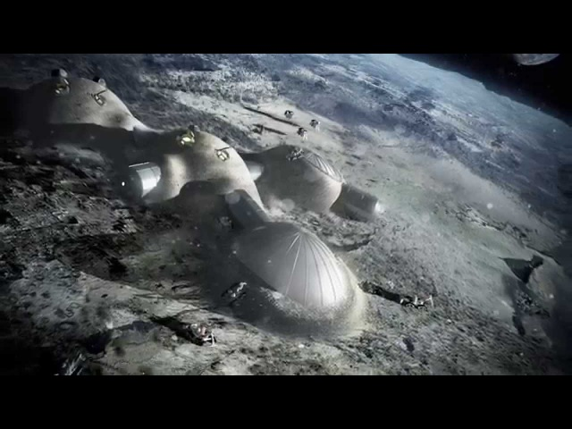 International Space Station 2 0 3D Printing A Lunar Village