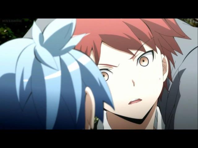 Nagisas Flying Triangle Choke - Nagisa vs Karma