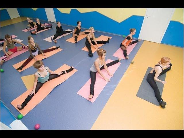 Stretching. Стретчинг. Растяжка для танцоров