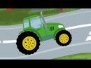 СВЕТОФОР - обучающая детская песенка мультик про машинки. Учим правила дорожног ...