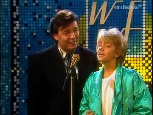 Karel Gott und Darinka - Fang das Licht - WWF-Club - 1985