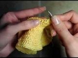 1 Как связать пляжную юбку, пояс и основа, 1 ряд