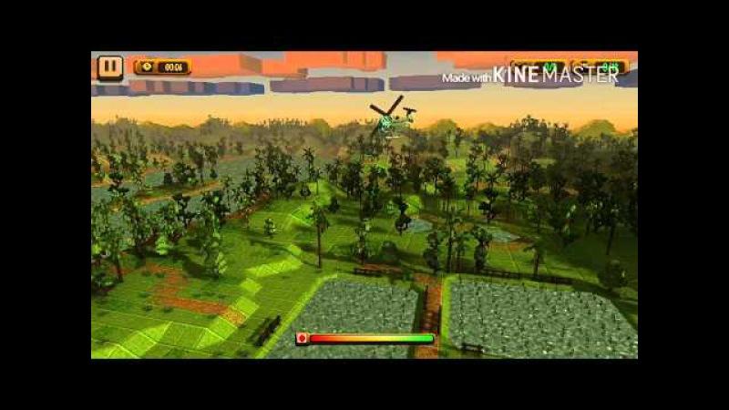Обзор игры Dustoff Heli Rescue на андроид устройст