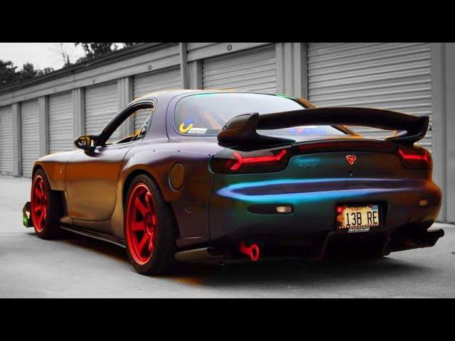 Ultimate Mazda RX-7 Sound Compilation 2
