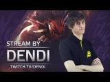 Dota 2 Stream Na`Vi Dendi playing Bloodseeker (Gameplay &amp Commentary)