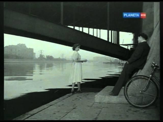 Тишина за рогожской заставою. Юная Жанна Болотова. Поёт Николай Рыбников. Tishina