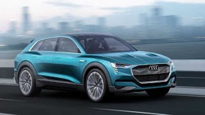 Audi e-tron quattro concept 2018