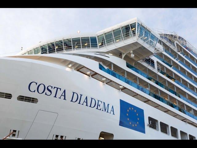 Морские круизы на Costa Diadema. Виртуальный тур по круизному лайнеру.