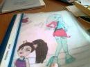 Мои рисунки Монстер хай/и/другие