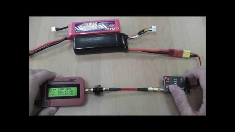 Тест видеопередатчика TS832