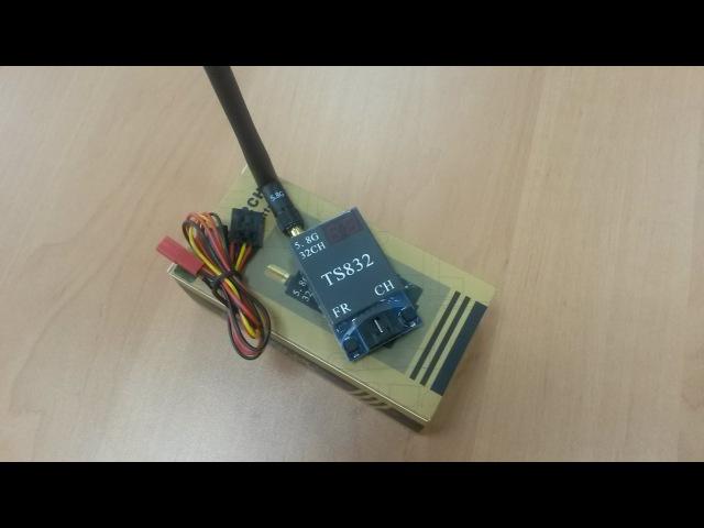 Тестирование видеопередатчика TS832