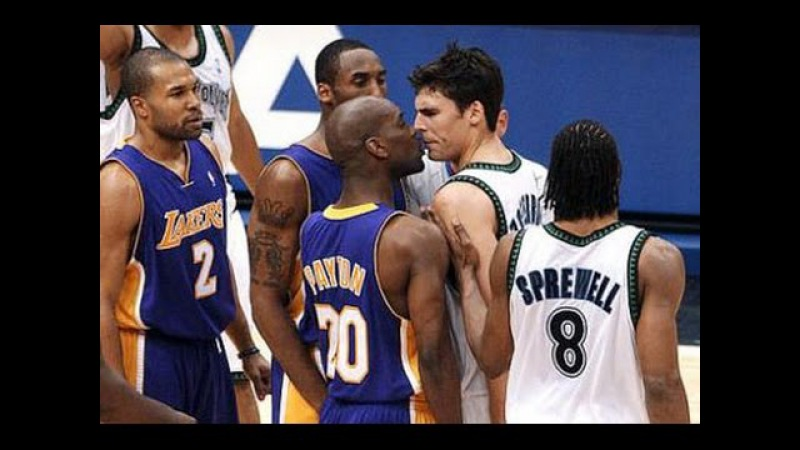 Playoffs 2003-2004 Lakers vs Timberwolves, game 2