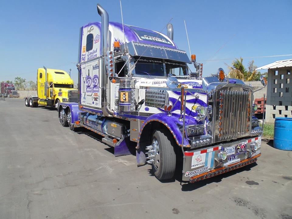дерзкий американский грузовик