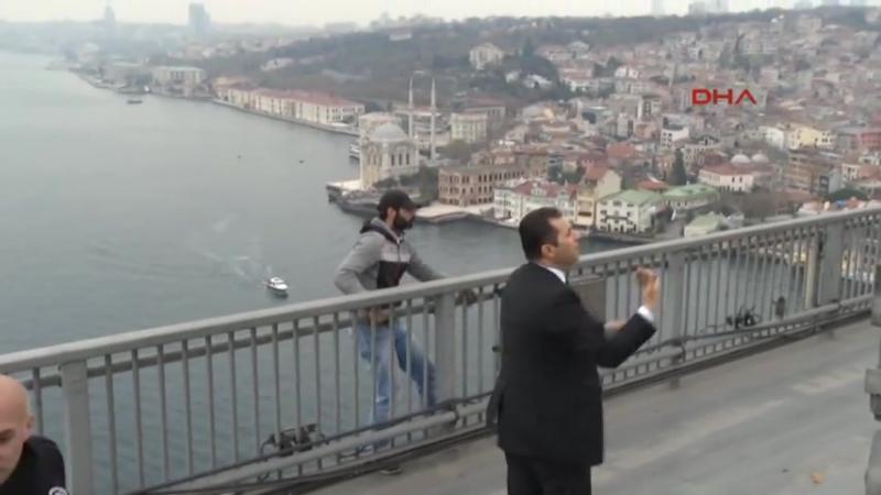 Ердоган переконав чоловіка не стрибати з мосту