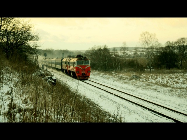 Diesel locomotive 2M62K-1163 / Тепловоз 2М62К-1163
