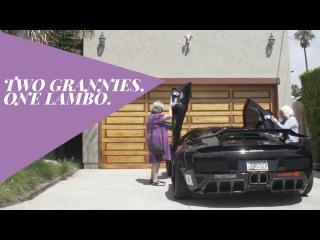 Two Grannies, One Lamborghini