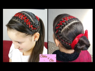 Diadema en Trenza Corset! - Corset Braid Headband!   Peinados Faciles   Trenza Diadema