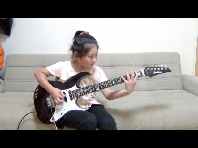 Dream Theater Lost Not Forgotten cover / Li-sa-X (Japanese 10 year old girl)