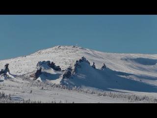 Белые пляжи Сибири в Шерегеше. White Sands of Siberia