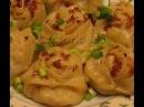 Манты с картошкой грибами и квашеной капустой