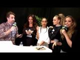 Little Mix talk to Tom Green - Key103 Christmas Live backstage