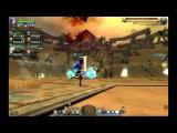 Логово Пустынного дракона. Умение Повелителя бури Зуула: Прыжок.