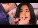 Макияж губ Азиатская модель Эрик Индиков