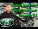 Ремонт двигателя Range Rover Land Rover Discovery