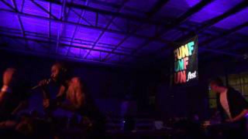 Death Grips Guillotine Zach Hill solo Live Fun Fun Fun Fest Nites '11