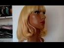 Парик искусственный блонд, обзор