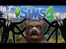 Visiting Slender Man's Woods - The Sims 4 - Creepypasta Theme - Ep. 2