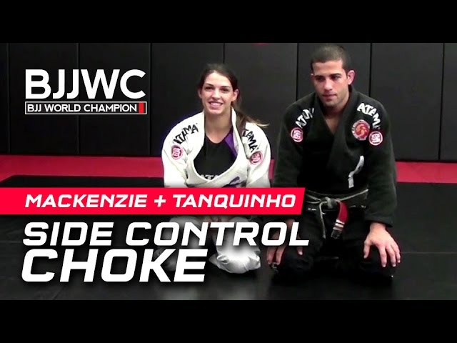 Mackenzie Dern Augusto Tanquinho Side Control Choke