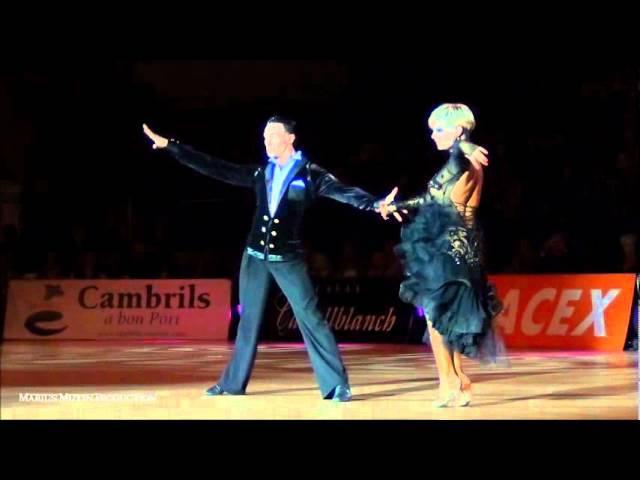 Cambrils 2012 - European Championship Latin - solo Rumba - Martino Zanibellato Michelle Abildtrup